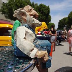 Pasadena Police Classic Car Show Festivals E Green St - Pasadena car show