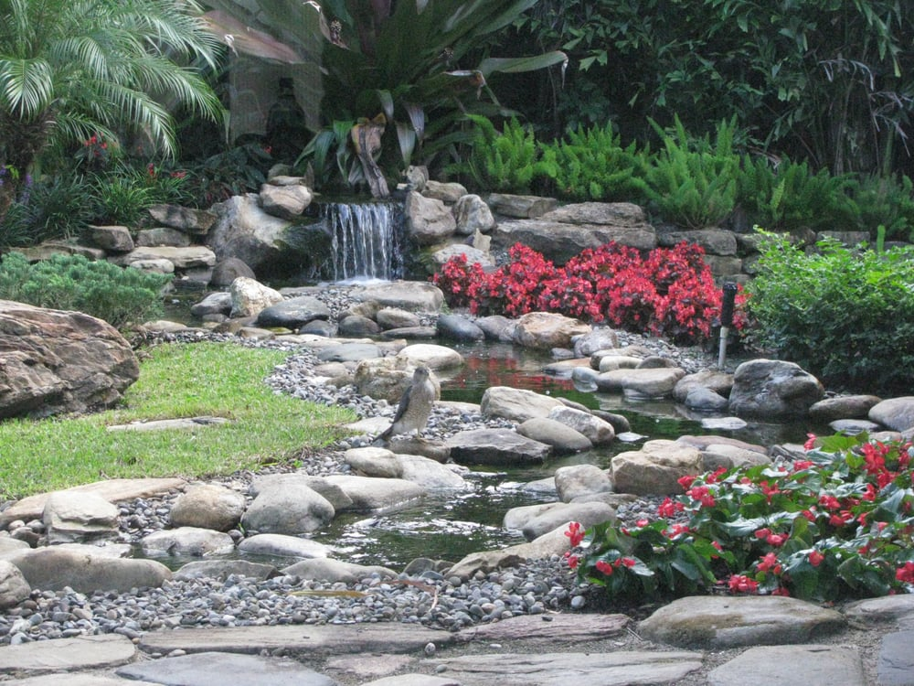 Sunrise Auto Sales >> Water Feature with Cane Creek River Rock - Yelp