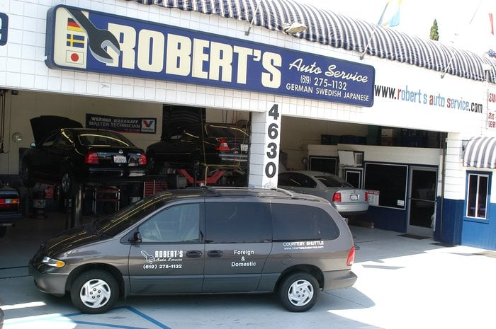 Robert S Auto Service Auto Repair Pacific Beach San