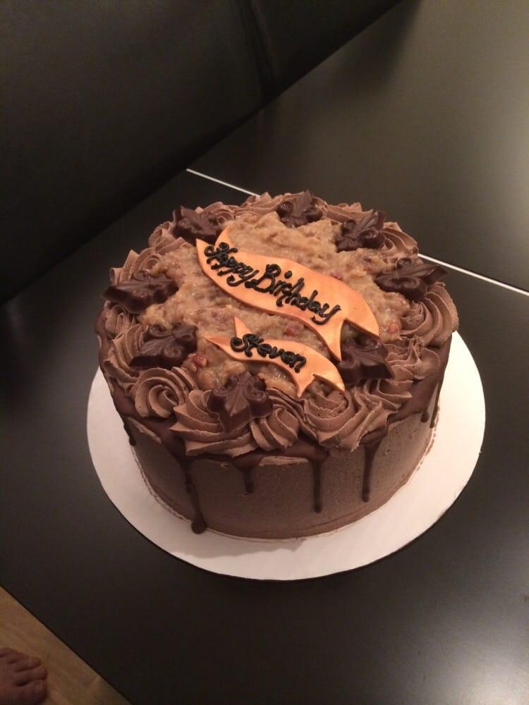 German Chocolate Birthday Cake Yelp