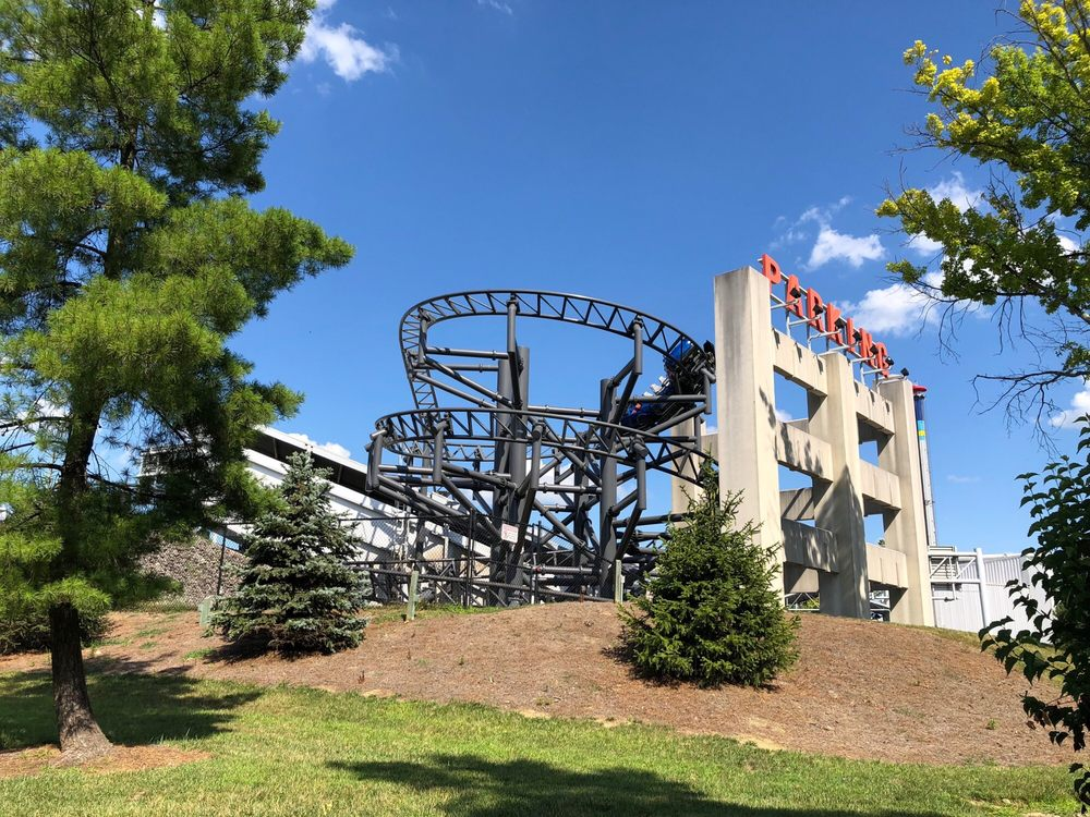 Backlot Stunt Coaster: 6300 Kings Island Dr, Kings Mills, OH