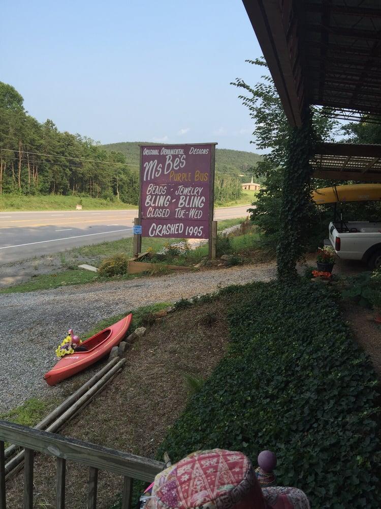 Ms Be's Purple Bus: 636 Hwy 64, Ocoee, TN
