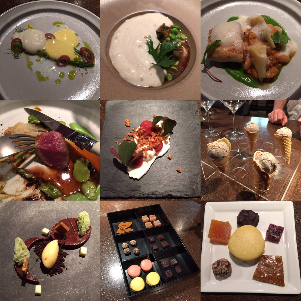 Last 8 Courses Of The Chef's Table Menu On May 14, 2016