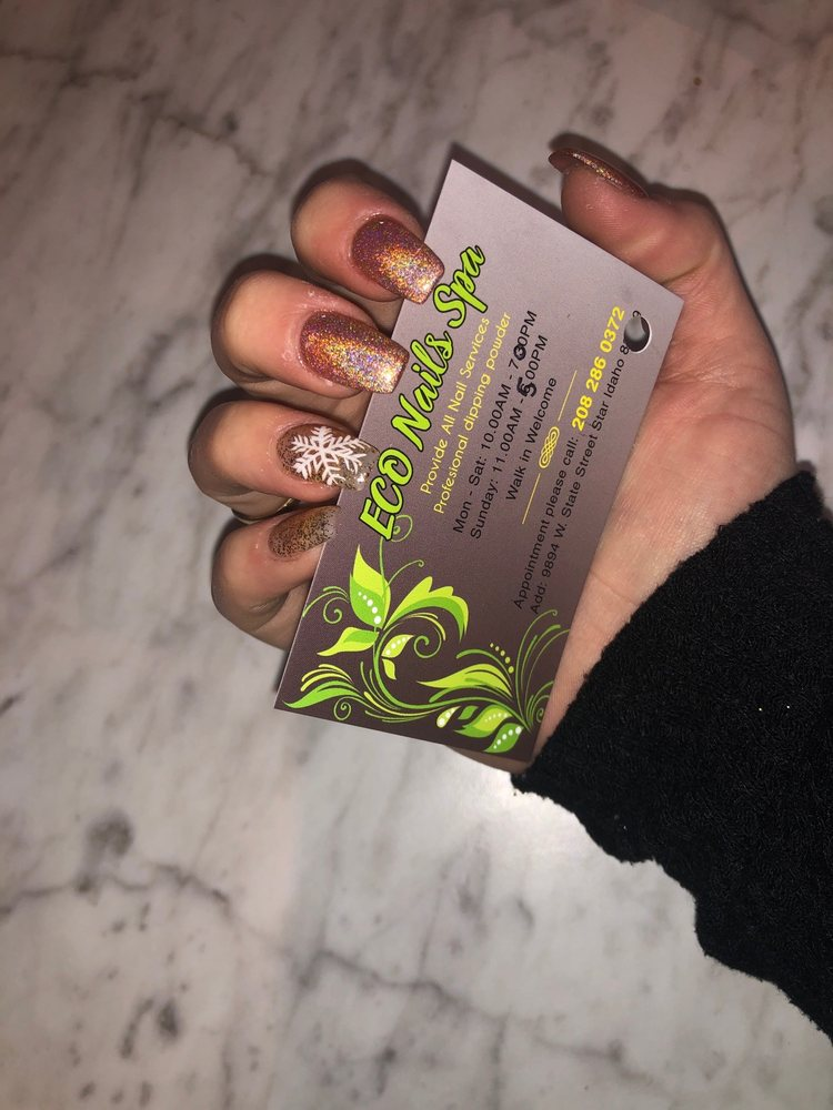 Eco Nails Spa: 9894 W State St, Star, ID