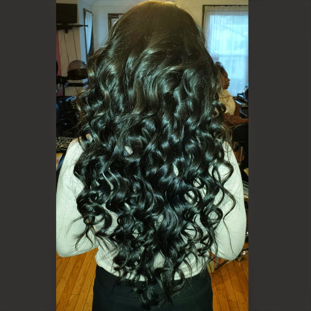 Full weave with russian hair wanded yelp photo of kina 4 hair washington dc united states full weave with pmusecretfo Images
