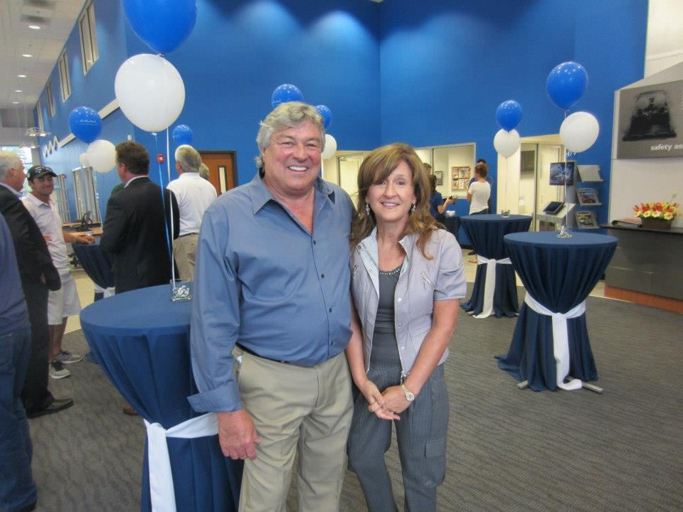 Ron & Paula Bouchard at the Honda Grand Opening in ...