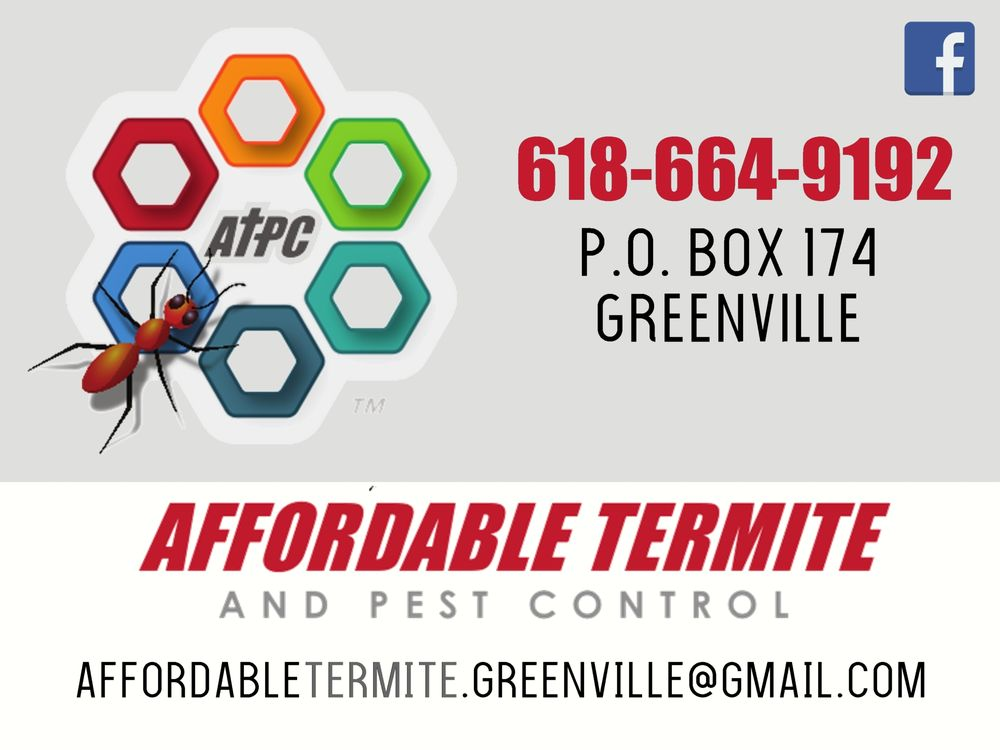 Affordable Termite & Pest Control: 519 N Locust, Greenville, IL