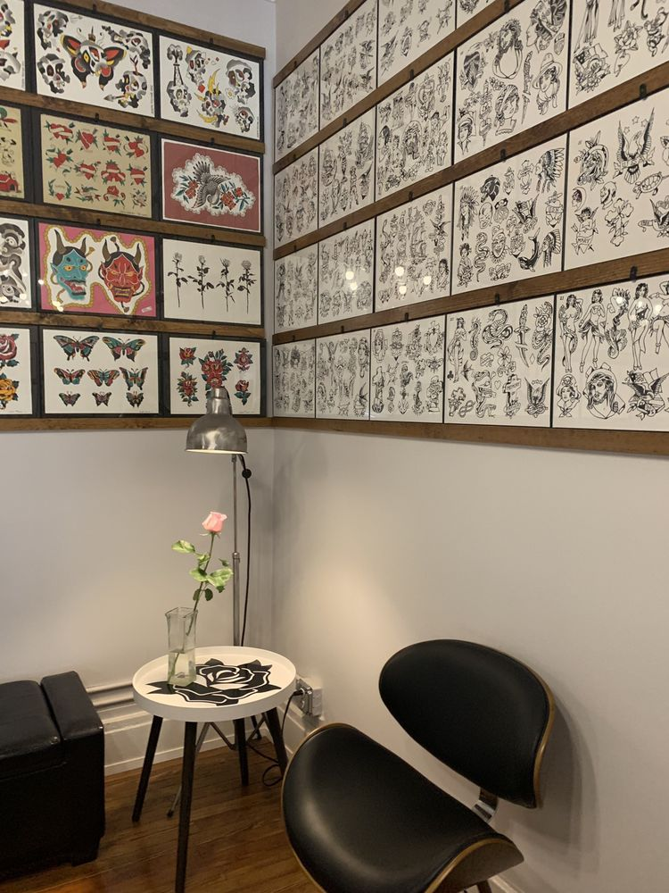 The Tilted Rose Tattoo: 5550 Main St, Williamsville, NY