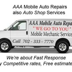 A1 Mobile Auto Repair Garages 4655 Boulder Hwy Las