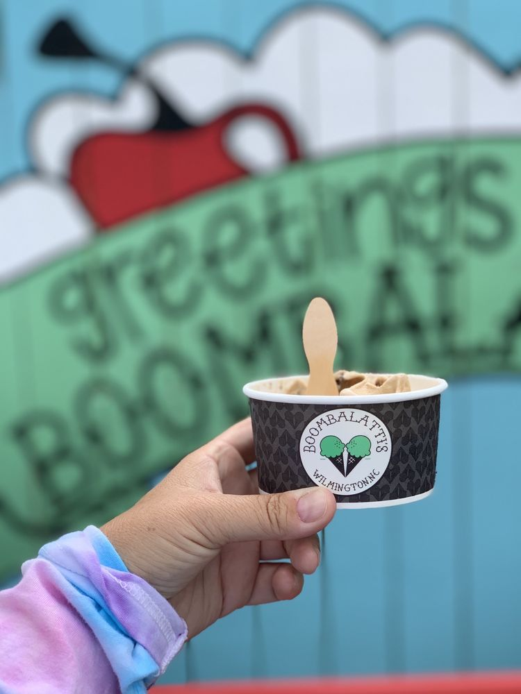 Boombalatti's Homemade Ice Cream: 1005 N 4th St, Wilmington, NC
