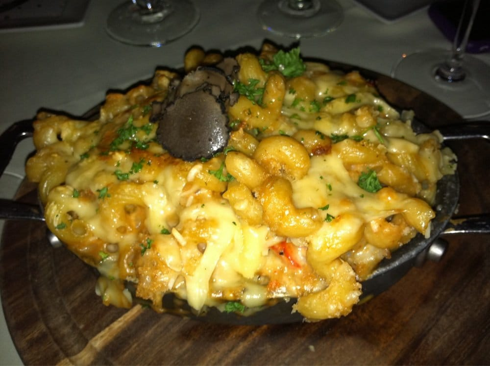 Lobster Mac n cheese with truffles...unreal! - Yelp