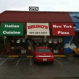 Bruno S Italian Restaurant Kissimmee Fl