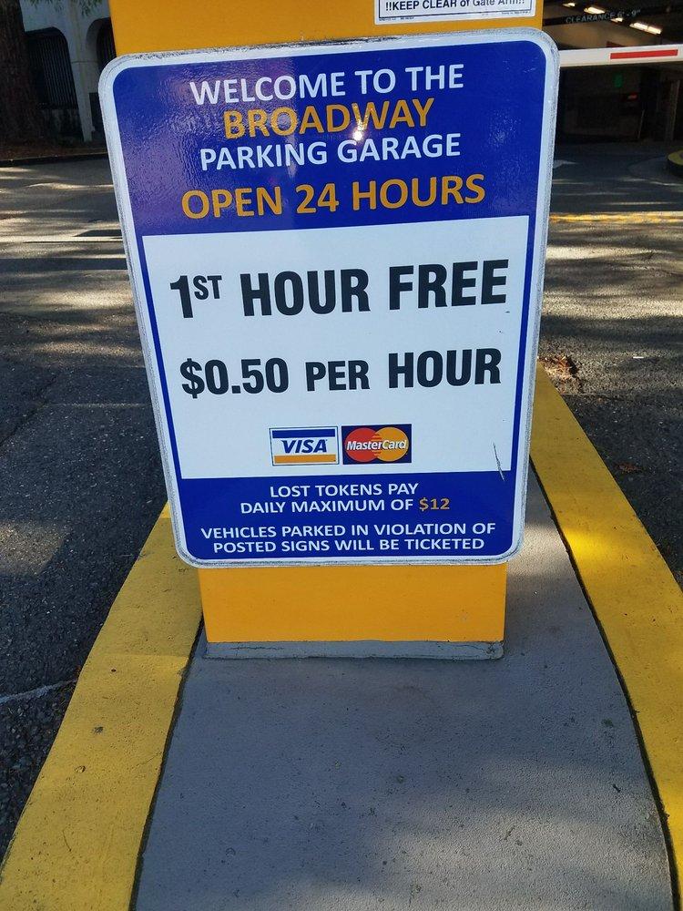 Broadway Parking Garage: 1390 N Broadway, Walnut Creek, CA