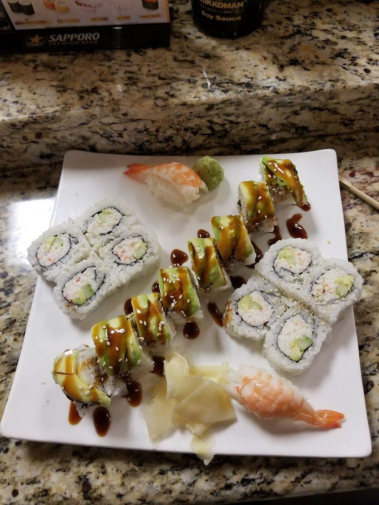 Fuji Roll & Sushi: 401 S Riverside Ave, Rialto, CA