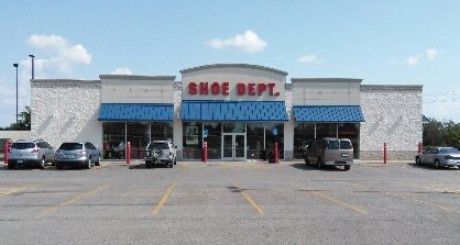 Shoe Dept.: 1521 Union Ave, Parsons, KS