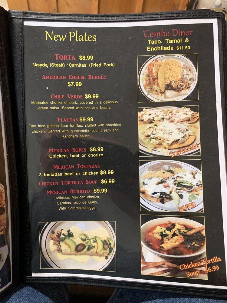 Los Tres Hermanos Mexican Restaurant: 105 S Katy Ave, Hominy, OK
