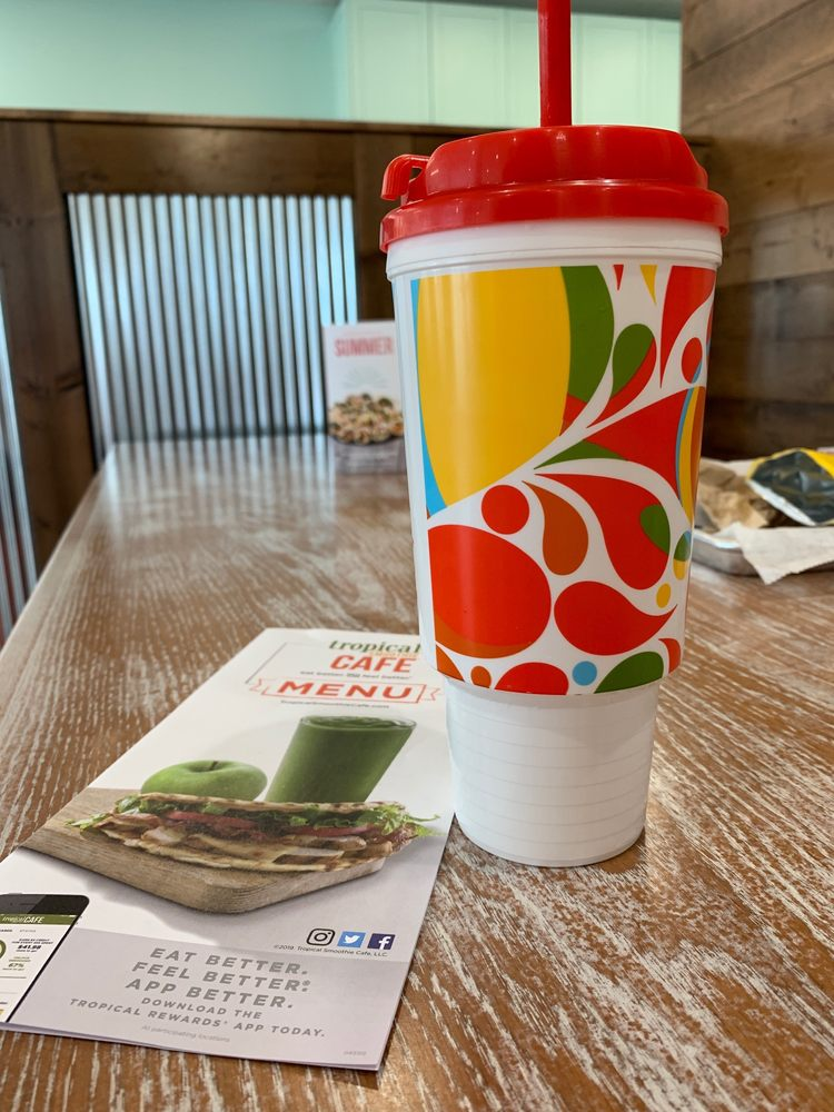 Tropical Smoothie Cafe: 510 E Wooster St, Bowling Green, OH