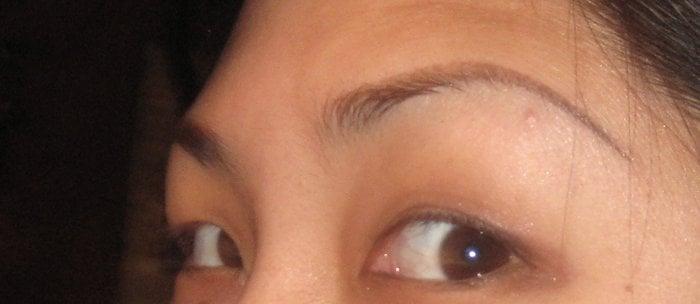 eyebrows post-kanako. if you thought i would post pre-kanako pics ...