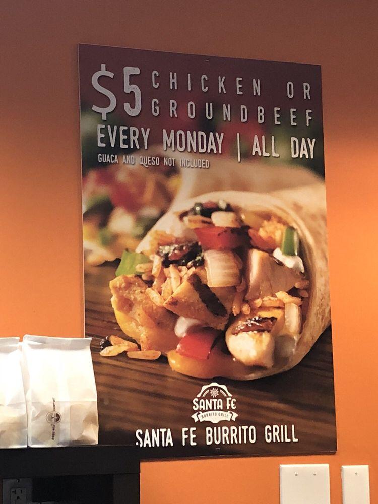 Santa Fe Burrito Grill: 28 W Central St, Franklin, MA