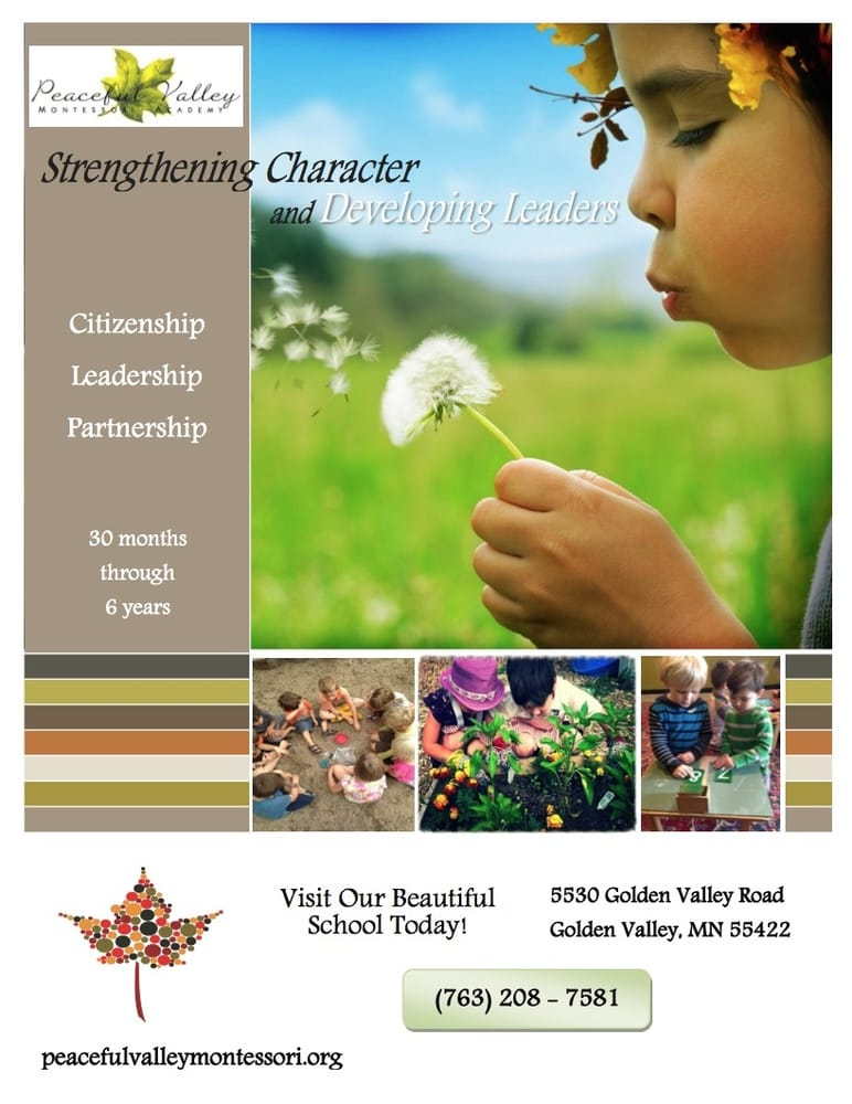 Peaceful Valley Montessori Academy: 6501 Country Club Dr, Golden Valley, MN