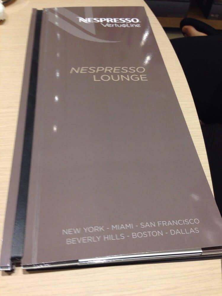 Photos for Nespresso Boutique  Yelp -> Nespresso Yelp