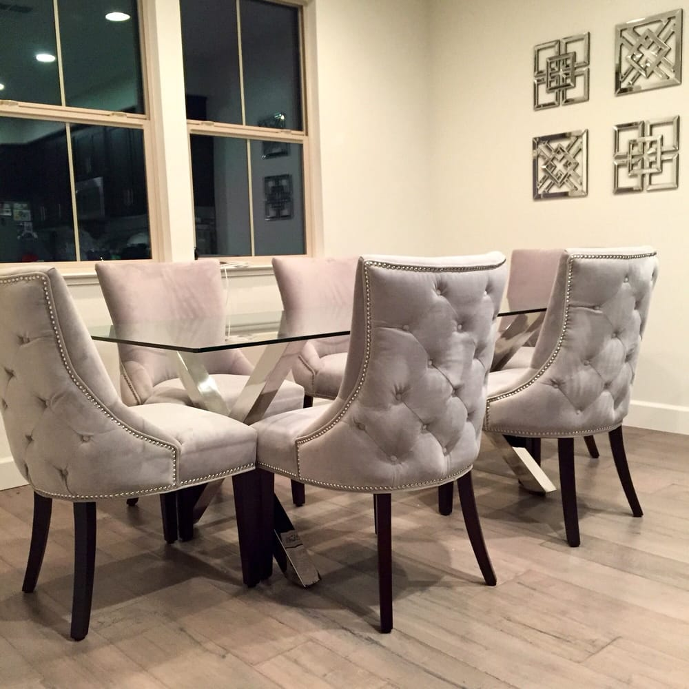 My Z Galleries Dining Room Versailles Chairs Axis Dining Table