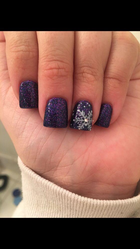 Winter wonderland nails by Katie - Yelp