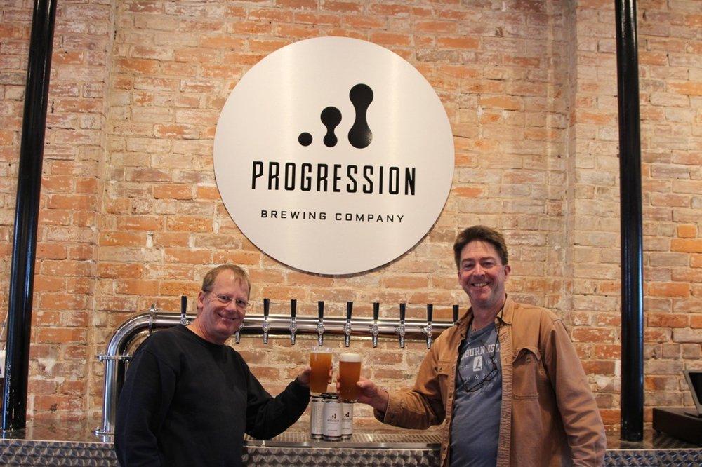 Progression Brewing Company: 9 Pearl St, Northampton, MA