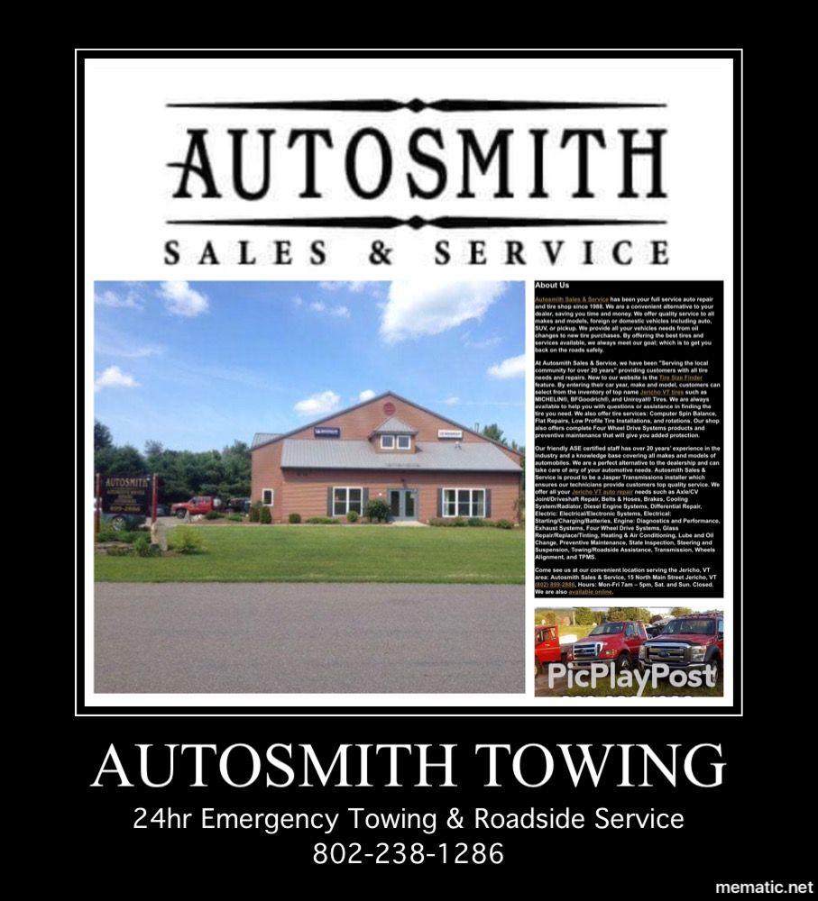 Autosmith: 15 N Main St, Jericho, VT