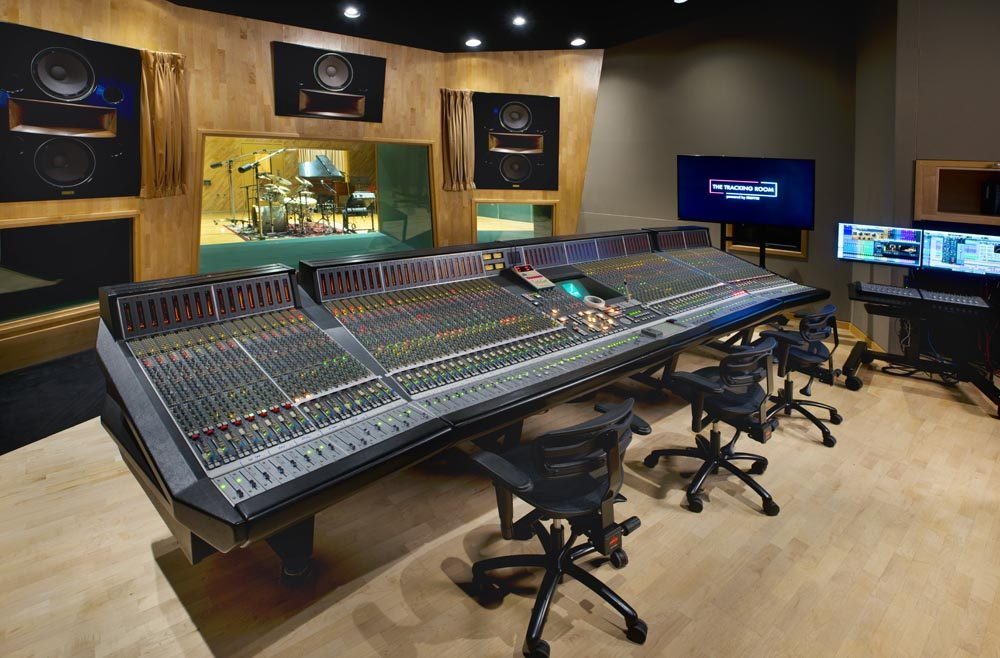 Control Room Complete With A Solid State Logic 9000j And Avid Pro