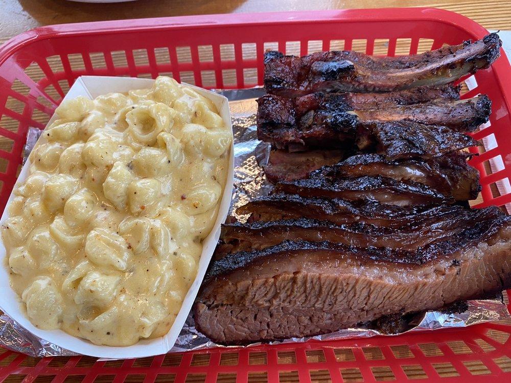 Food from Carolina Smoke BBQ