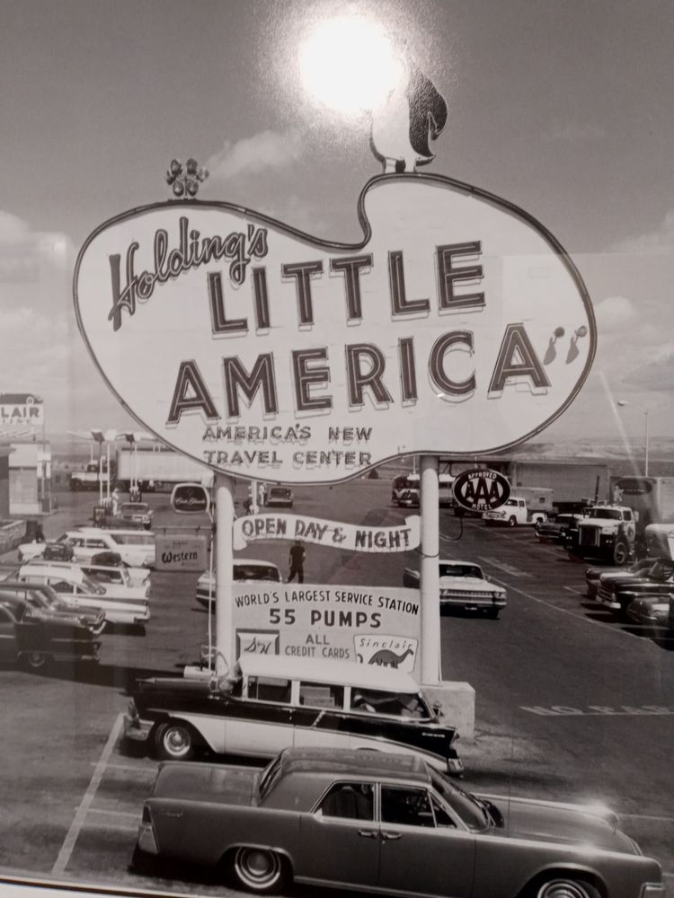 Little America Travel Center: I-80 Exit 68, Little America, WY