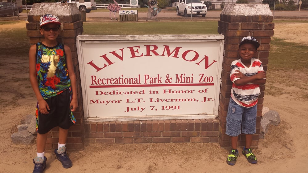 livermon Recreation Park and Mini Zoo: 102 N York St, Windsor, NC