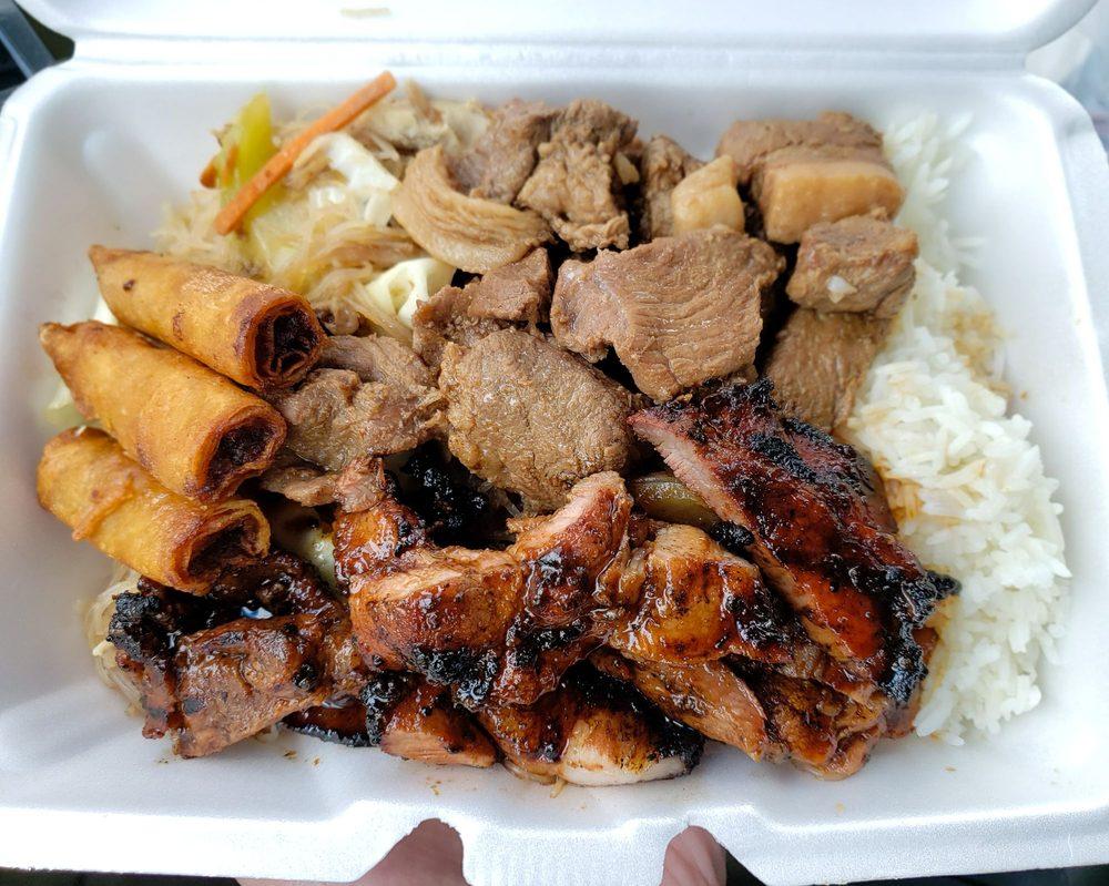 Food from Bry's Filipino Cuisine