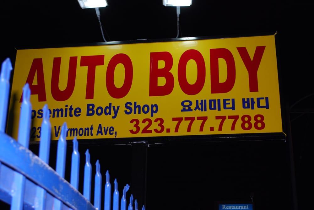 Auto Body Repair Near Me >> Yosemite Auto Body Shop - Body Shops - Los Angeles, CA - Yelp