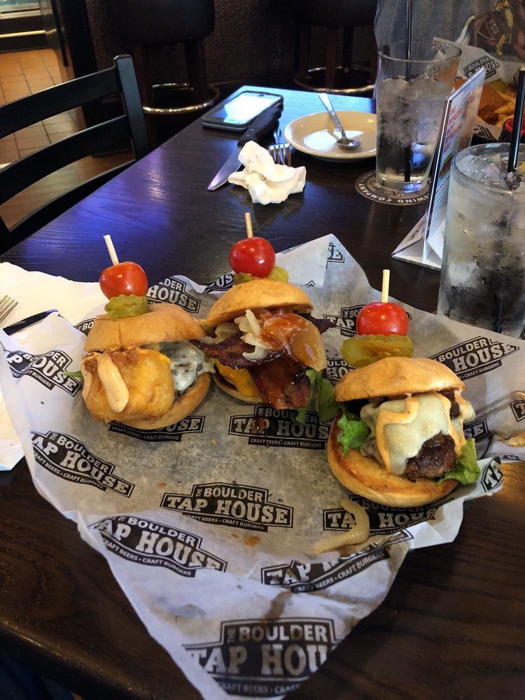 Food from Boulder Tap House