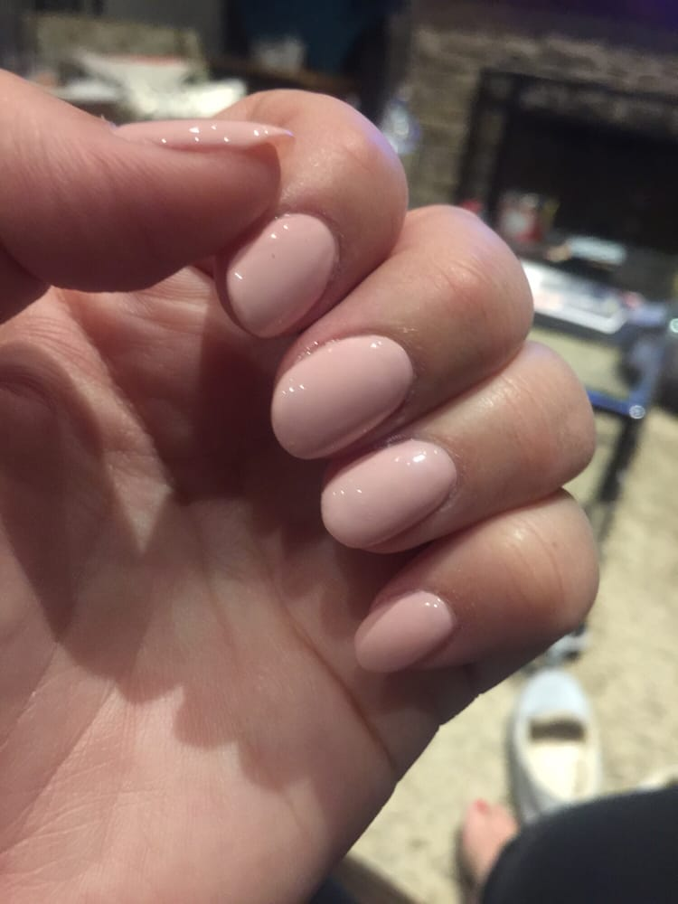 Photo doesn\'t do them justice, but lovely natural light pink oval ...