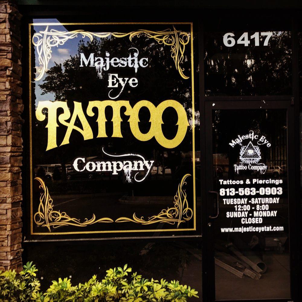 Majestic Eye Tattoo Company: 6417 S Hwy 301, Riverview, FL