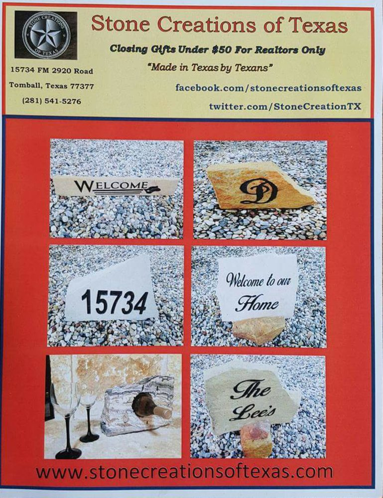 Stone Creations of Texas: 15734 FM2920, Tomball, TX