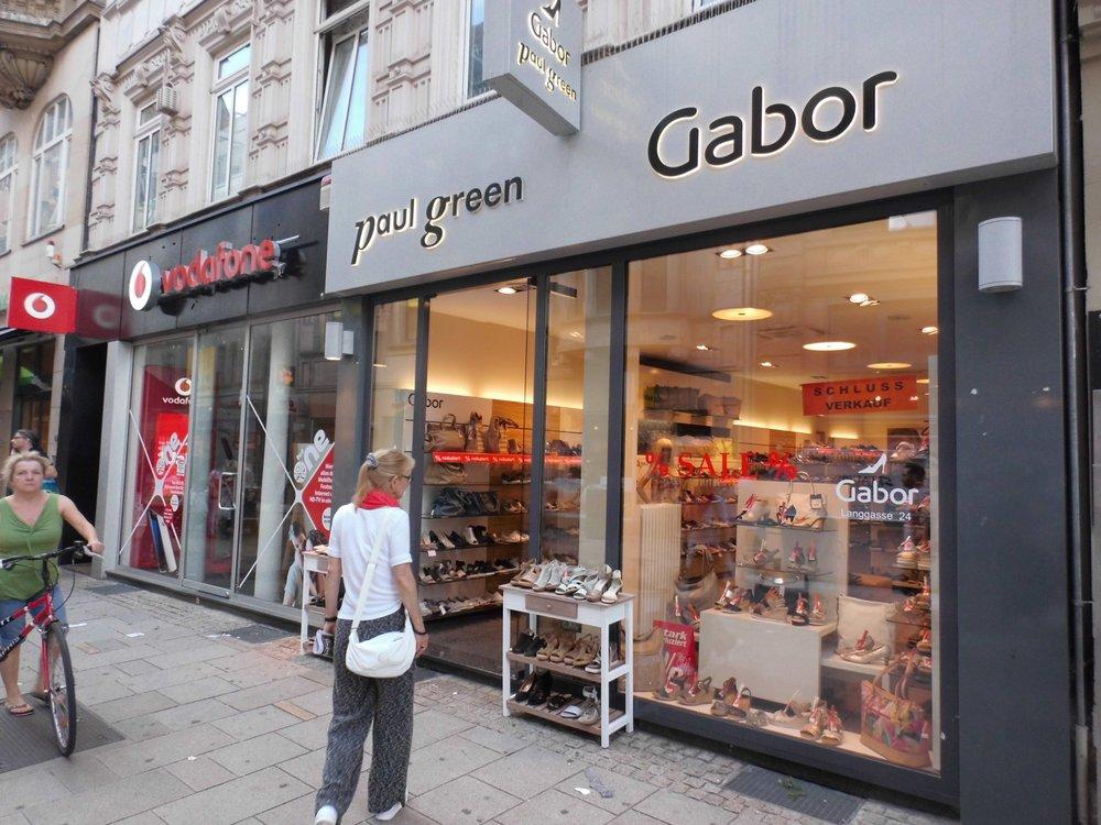 buy popular 631d7 a7876 Gabor & Paul Green Shop Wiesbaden - Shoe Stores - Langgasse ...