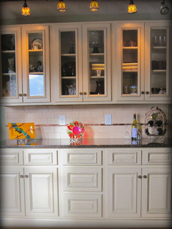 Arlington White Kitchen Cabinets By Lily Ann Cabinets - Yelp