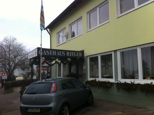 Gaststätte Rieger Bayerische Küche Rauberstr 27 Regensburg
