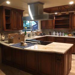 Photo Of Garciau0027s Cabinet Refinishing   Upland, CA, United States. Custom  Color Kitchen