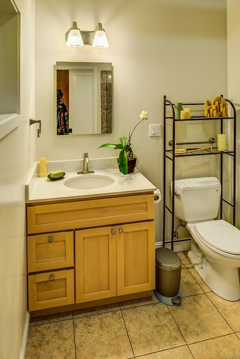 This Is The Legal Guest Bathroom As Part Of The Conversion From - Bathroom remodeling berkeley ca