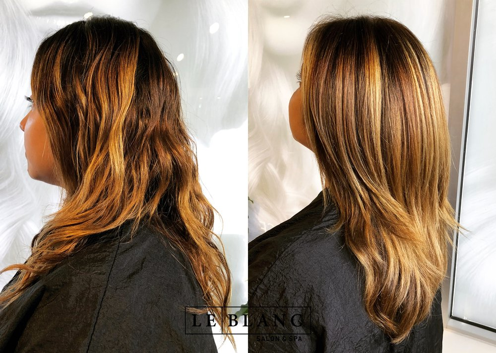 Before n After Color/Haircut by Kim Nguyen - Yelp