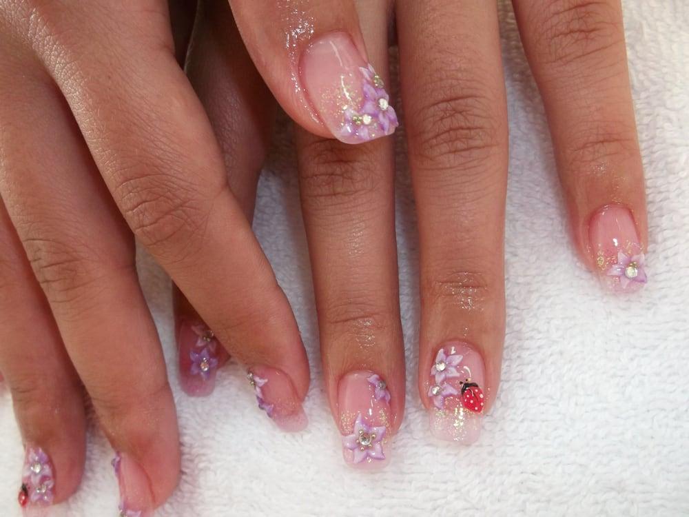Nice De Paris Nails Component - Nail Art Ideas - morihati.com