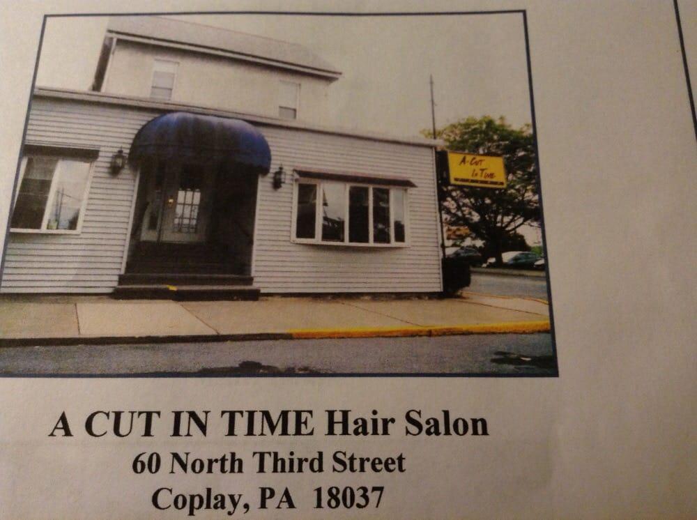 A Cut In Time: 60 N 3rd St, Coplay, PA