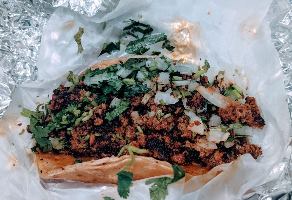 Food from Taqueria El Heredero