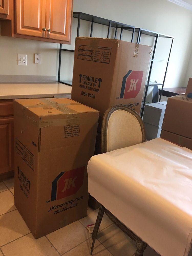 JK Moving Services: 44112 Mercure Cir, Sterling, VA