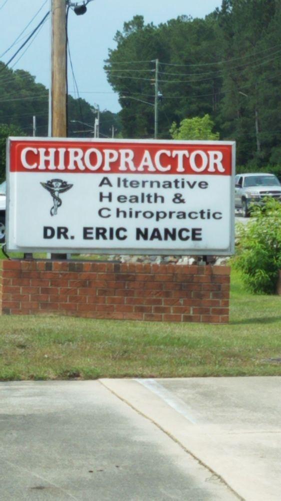 Eric Nance - Alternative Health and Chiropractic: 4902 Fayetteville Rd, Lumberton, NC